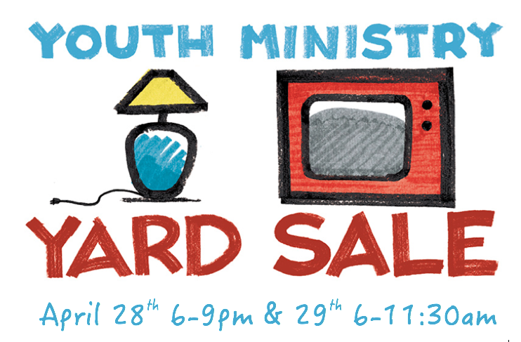 Yard Sale to Support Youth Missions