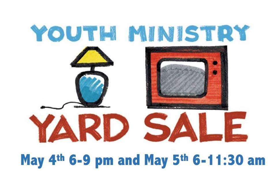 Youth Ministry Yard Sale for Missions