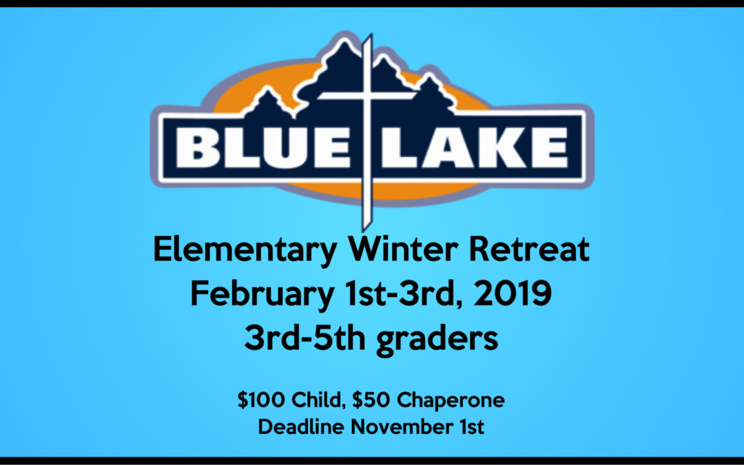 Elementary Winter Retreat 2019