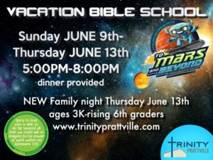 Vacation Bible School Prattville, AL